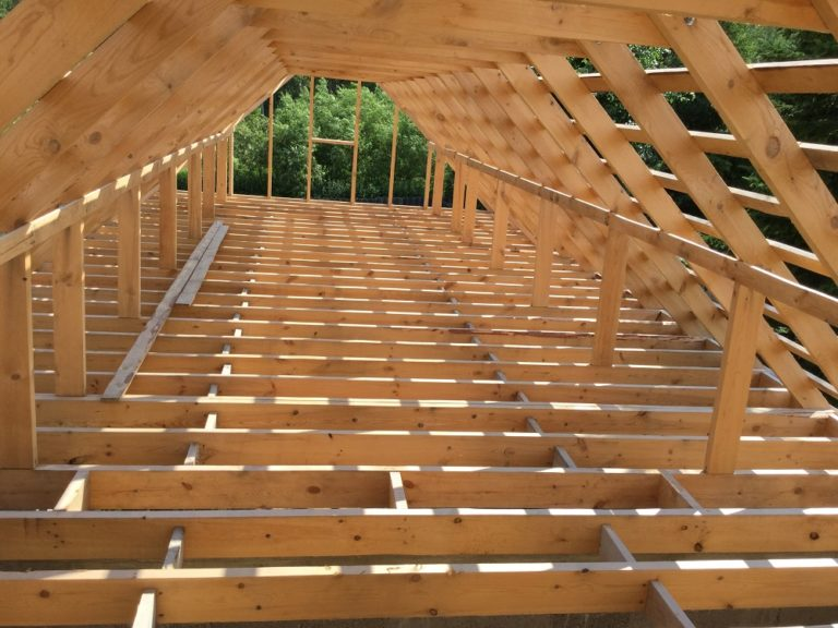 деревянные перекрытия между этажами в частном доме