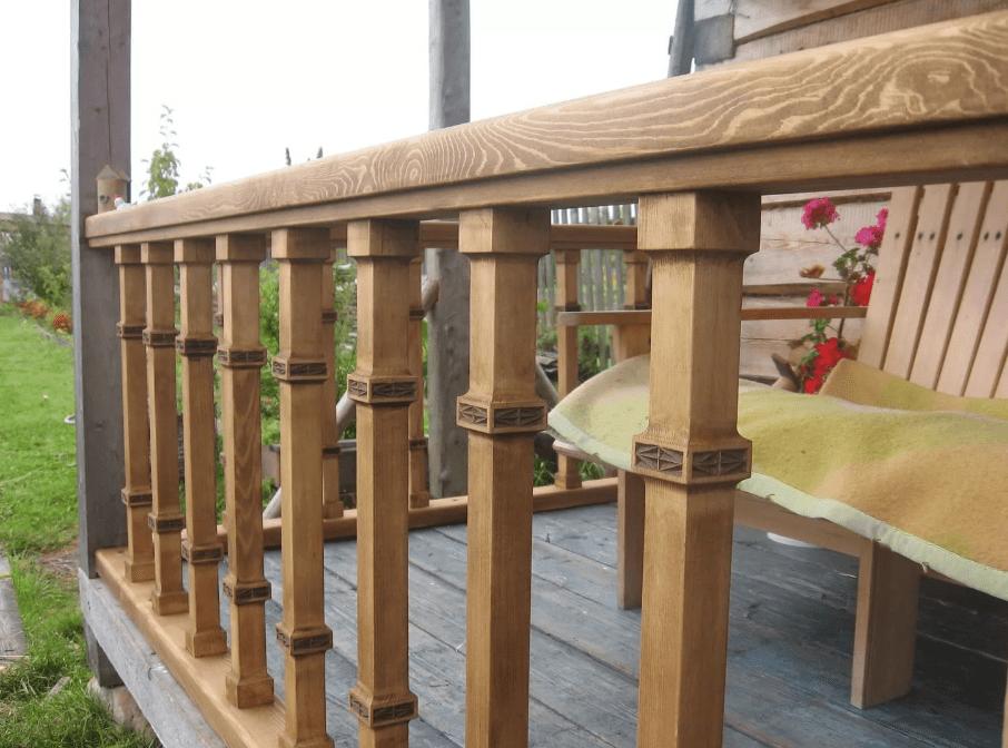 деревянные ограждения балконов и террас фото материал одежде поможет